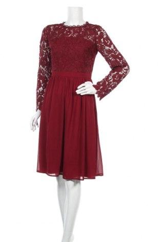 Šaty  Chi Chi, Velikost M, Barva Červená, Polyester, Cena  468,00Kč