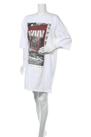 Рокля DKNY, Размер M, Цвят Бял, Памук, Цена 104,25лв.