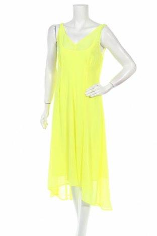 Рокля DKNY, Размер S, Цвят Жълт, Полиестер, Цена 136,50лв.