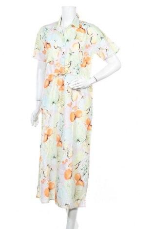 Φόρεμα Edited, Μέγεθος M, Χρώμα Πολύχρωμο, 88% βαμβάκι, 12% λινό, Τιμή 19,56€