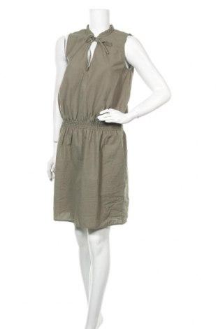 Рокля H&M L.O.G.G., Размер M, Цвят Зелен, 65% полиестер, 35% памук, Цена 20,95лв.