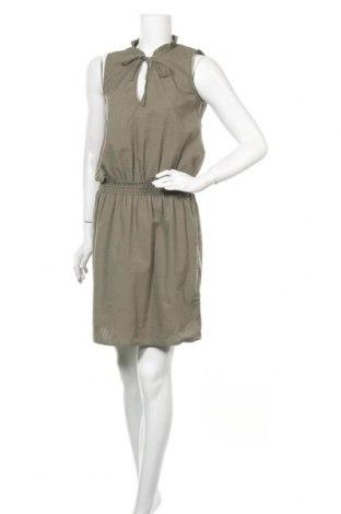 Рокля H&M L.O.G.G., Размер M, Цвят Зелен, 65% полиестер, 35% памук, Цена 22,94лв.