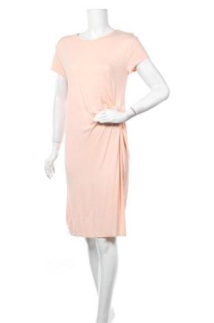 Рокля H&M L.O.G.G., Размер M, Цвят Розов, Вискоза, Цена 25,94лв.