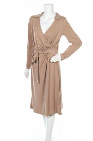 Φόρεμα In Wear, Μέγεθος M, Χρώμα Καφέ, 70% μοντάλ, 30% πολυεστέρας, Τιμή 30,67€