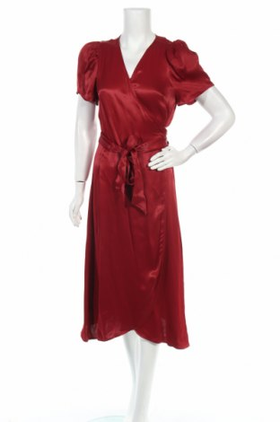 Φόρεμα Just Female, Μέγεθος S, Χρώμα Κόκκινο, Βισκόζη, Τιμή 37,46€