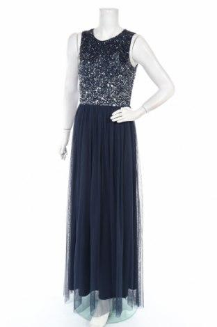 Рокля Lace & Beads, Размер L, Цвят Син, Полиестер, Цена 92,95лв.