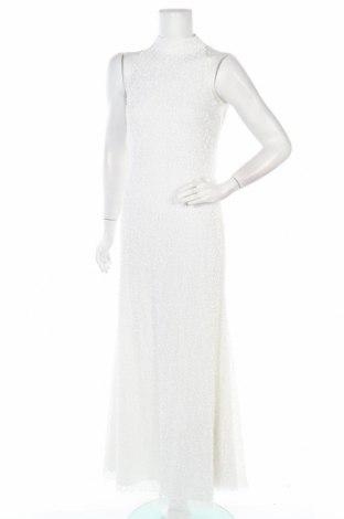 Рокля Lace & Beads, Размер M, Цвят Бял, Полиестер, Цена 99,60лв.