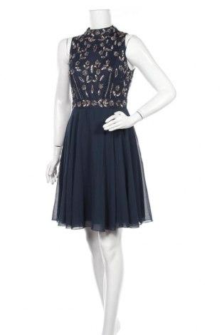Рокля Lace & Beads, Размер L, Цвят Син, Полиестер, Цена 63,60лв.