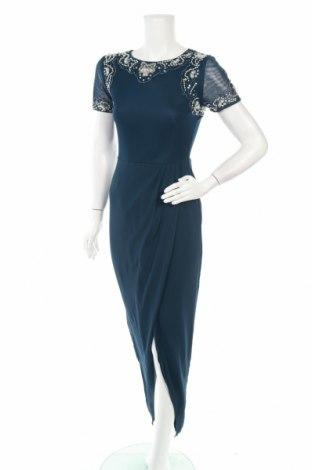Рокля Lace & Beads, Размер S, Цвят Син, Полиестер, Цена 67,60лв.