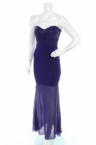 Рокля Lipsy London, Размер XS, Цвят Лилав, 98% полиестер, 2% еластан, Цена 17,06лв.