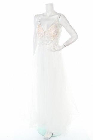 Рокля Luxuar Limited, Размер L, Цвят Бял, Полиестер, Цена 96,80лв.