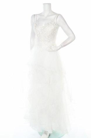 Рокля Luxuar Limited, Размер XS, Цвят Бял, Полиестер, Цена 127,60лв.