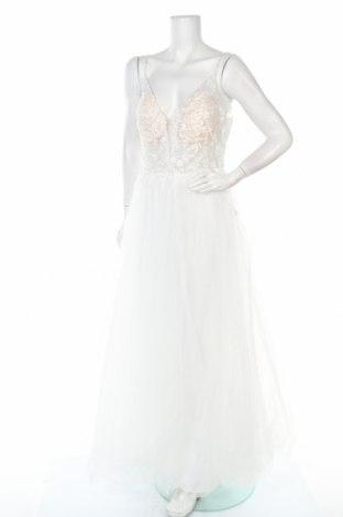 Рокля Luxuar Limited, Размер XL, Цвят Бял, Полиестер, Цена 99,60лв.