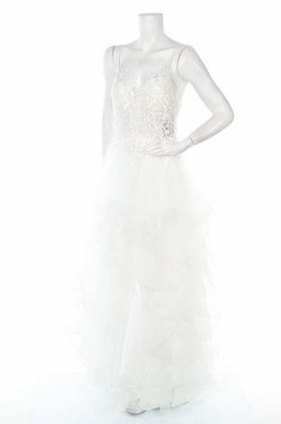 Рокля Luxuar Limited, Размер L, Цвят Бял, Полиестер, Цена 131,60лв.