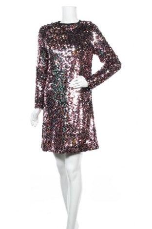 Рокля McQ Alexander McQueen, Размер S, Цвят Розов, Полиамид, Цена 299,82лв.
