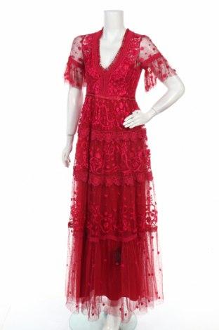 Рокля Needle & Thread, Размер M, Цвят Червен, Полиестер, Цена 433,95лв.