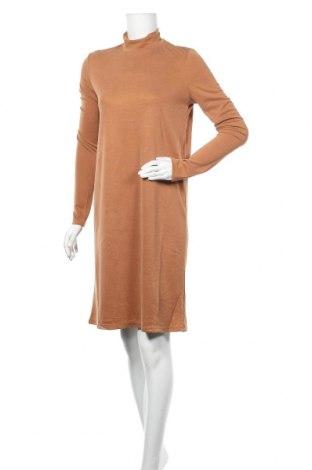 Φόρεμα Pieces, Μέγεθος S, Χρώμα Καφέ, 68% μοντάλ, 32% πολυεστέρας, Τιμή 15,21€