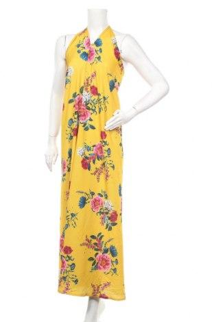 Φόρεμα Qed London, Μέγεθος S, Χρώμα Κίτρινο, 95% πολυεστέρας, 5% ελαστάνη, Τιμή 12,28€