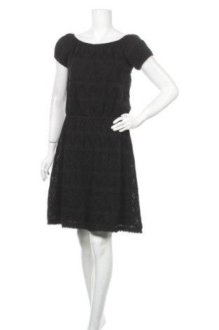 Рокля S.Oliver, Размер S, Цвят Черен, 95% памук, 5% еластан, Цена 44,52лв.