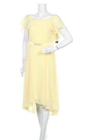 Рокля S.Oliver, Размер M, Цвят Жълт, Полиестер, Цена 54,50лв.
