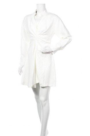 Φόρεμα Sandro, Μέγεθος S, Χρώμα Εκρού, 67% βισκόζη, 33% λινό, Τιμή 47,91€