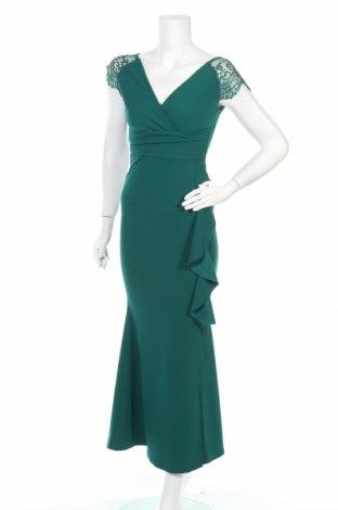 Рокля Sistaglam, Размер XS, Цвят Зелен, Полиестер, еластан, Цена 55,65лв.