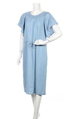 Φόρεμα Soya Concept, Μέγεθος M, Χρώμα Μπλέ, 100% lyocell, Τιμή 24,32€