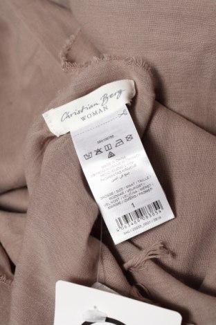 Κασκόλ Christian Berg, Χρώμα  Μπέζ, Βαμβάκι, Τιμή 7,37€