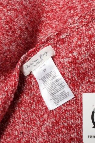 Κασκόλ Christian Berg, Χρώμα Κόκκινο, 49% βαμβάκι, 45%ακρυλικό, 6% πολυεστέρας, Τιμή 8,91€