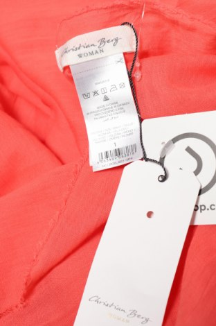 Κασκόλ Christian Berg, Χρώμα Ρόζ , Βαμβάκι, Τιμή 7,94€