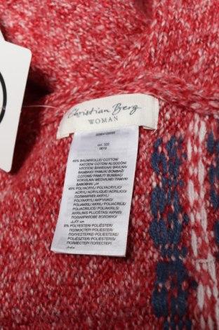 Κασκόλ Christian Berg, Χρώμα Κόκκινο, 49% βαμβάκι, 45%ακρυλικό, 6% πολυεστέρας, Τιμή 6,27€