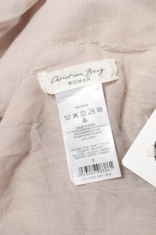 Κασκόλ Christian Berg, Χρώμα  Μπέζ, Βαμβάκι, Τιμή 5,09€