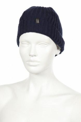 Καπέλο, Χρώμα Μπλέ, 50% πολυεστέρας, 20% πολυαμίδη, 20% πολυακρυλικό, 10% μερινό, Τιμή 8,66€