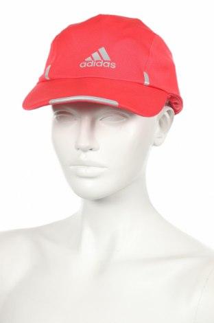 Шапка Adidas, Цвят Розов, Полиестер, Цена 32,76лв.