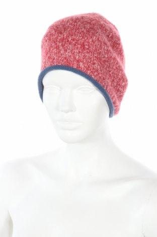 Шапка Christian Berg, Цвят Червен, 49% памук, 45% акрил, 6% полиестер, Цена 10,40лв.