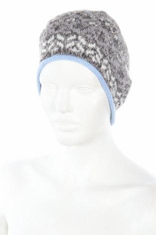 Καπέλο Christian Berg, Χρώμα Γκρί, 49% βαμβάκι, 45%ακρυλικό, 6% πολυεστέρας, Τιμή 5,09€