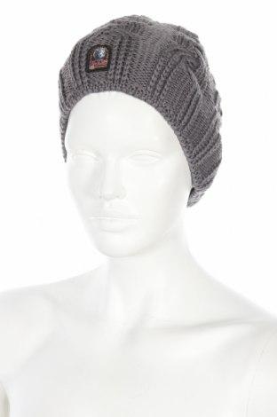 Καπέλο Parajumpers, Χρώμα Γκρί, Μαλλί, Τιμή 35,58€