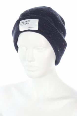 Καπέλο Review, Χρώμα Μπλέ, Πολυακρυλικό, Τιμή 5,09€