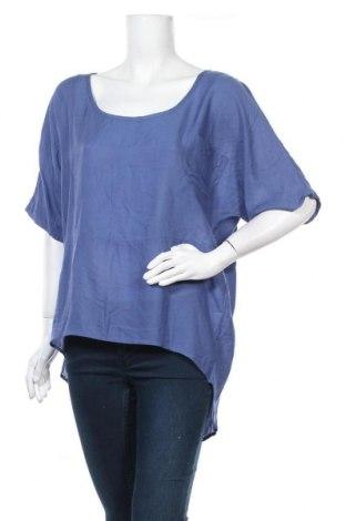 Дамска блуза Cha Cha, Размер M, Цвят Син, Вискоза, Цена 6,98лв.