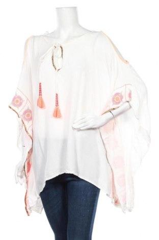 Τουνίκ F&F, Μέγεθος S, Χρώμα Λευκό, Βισκόζη, Τιμή 12,86€
