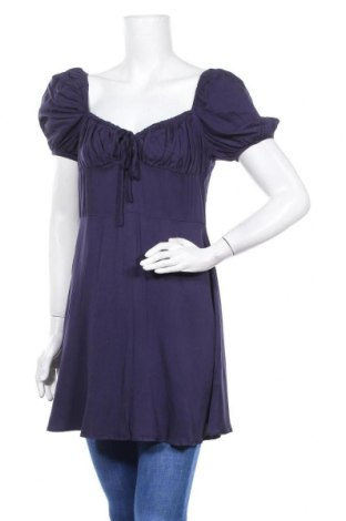 Τουνίκ Glamorous, Μέγεθος M, Χρώμα Μπλέ, Βισκόζη, Τιμή 18,44€