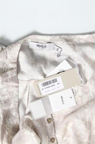 Τουνίκ Myrine, Μέγεθος XS, Χρώμα Γκρί, Βισκόζη, Τιμή 15,21€