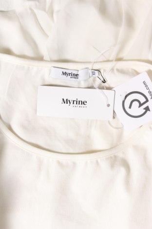 Τουνίκ Myrine, Μέγεθος XS, Χρώμα Εκρού, 95% βαμβάκι, 5% ελαστάνη, Τιμή 15,21€