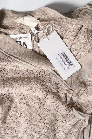 Τουνίκ Myti by Myrine, Μέγεθος XL, Χρώμα  Μπέζ, 69% βαμβάκι, 19% πολυεστέρας, 10% βισκόζη, 2% ελαστάνη, Τιμή 22,81€