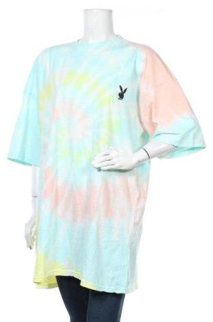 Τουνίκ Playboy x Missguided, Μέγεθος L, Χρώμα Πολύχρωμο, Βαμβάκι, Τιμή 14,69€