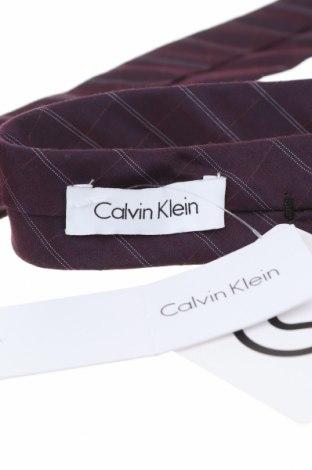 Γραβάτα Calvin Klein, Χρώμα Βιολετί, 61% βισκόζη, 39% μετάξι, Τιμή 20,63€