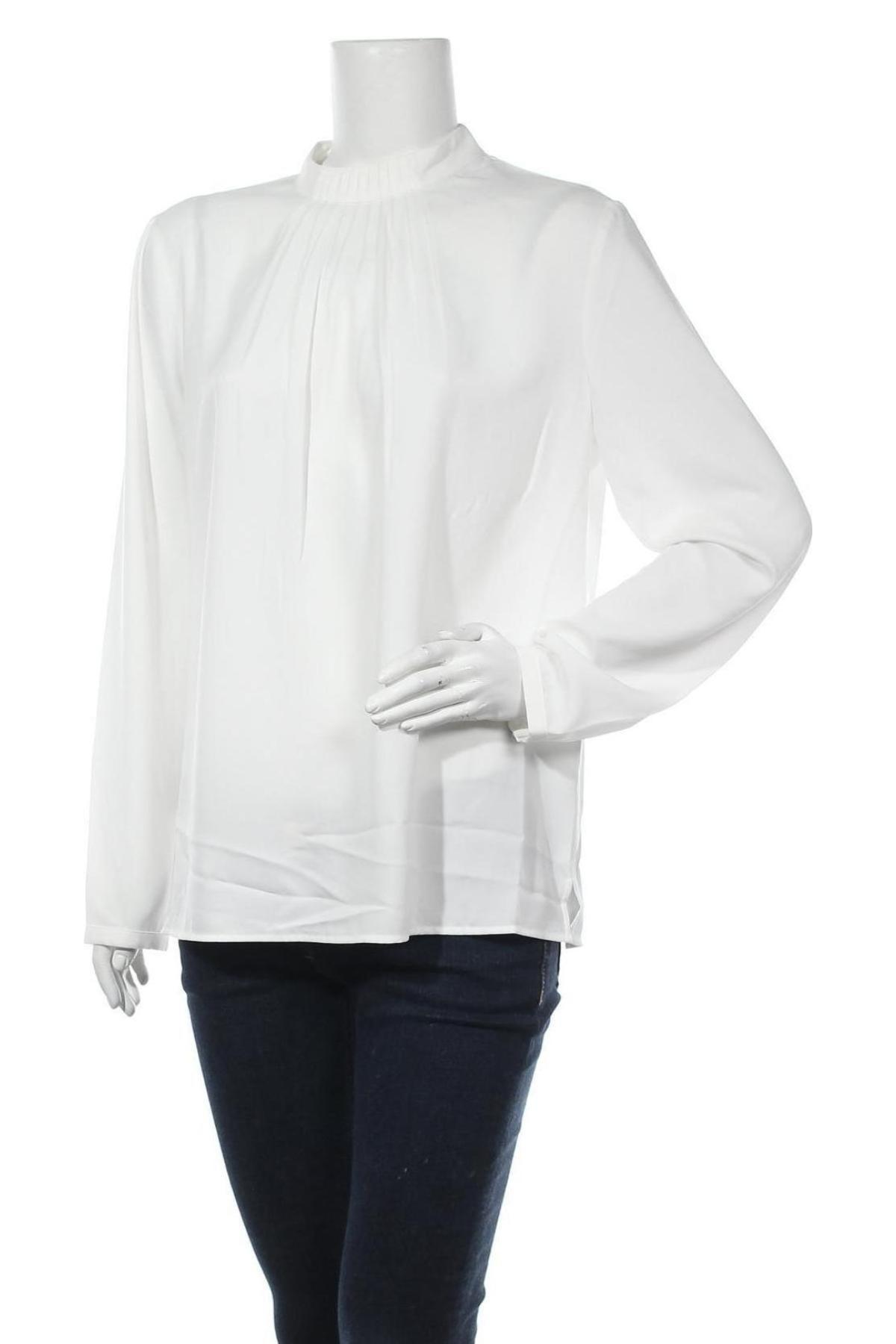 Дамска блуза Esprit, Размер L, Цвят Бял, Полиестер, Цена 51,75лв.