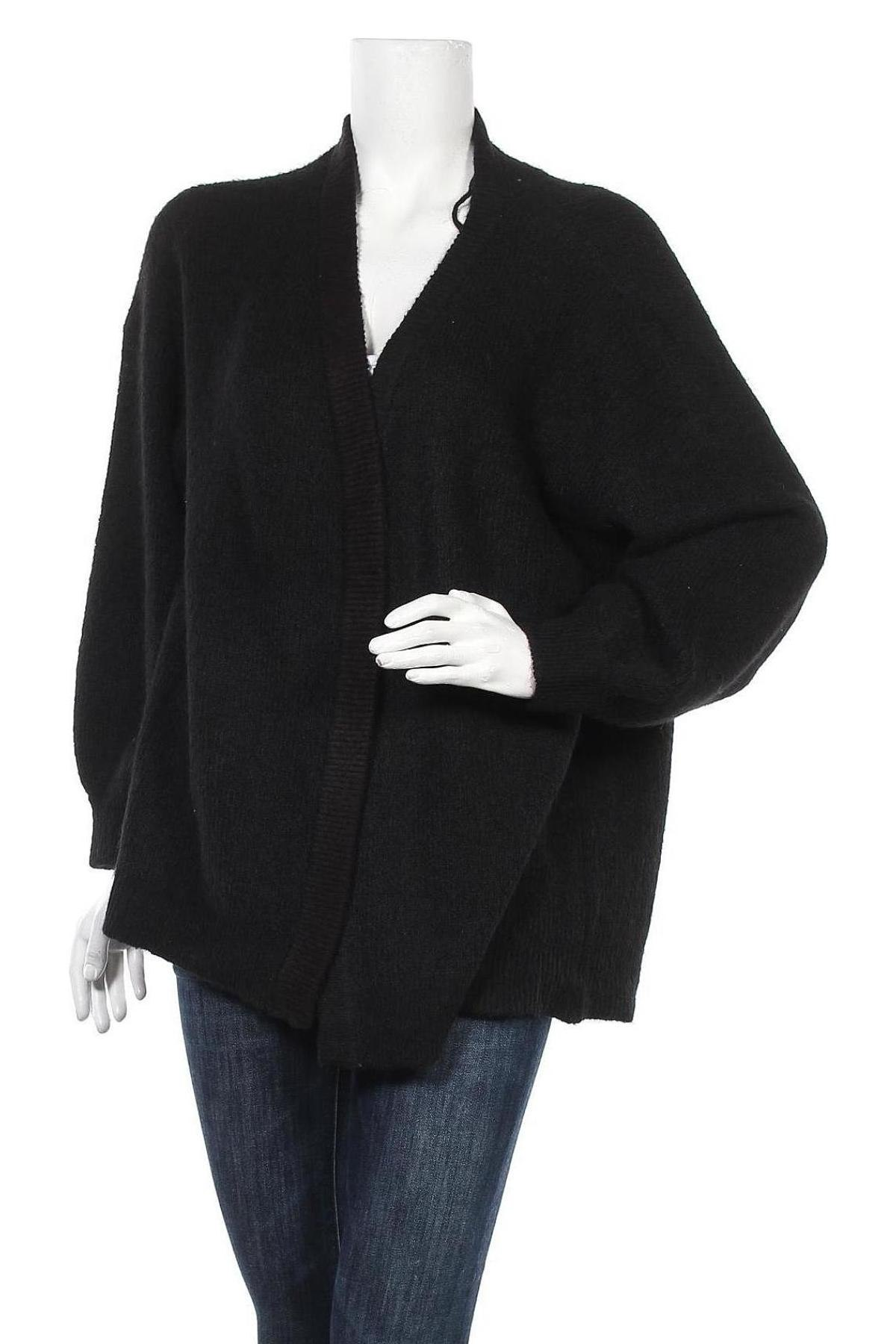 Дамска жилетка Vero Moda, Размер XL, Цвят Черен, Цена 23,20лв.