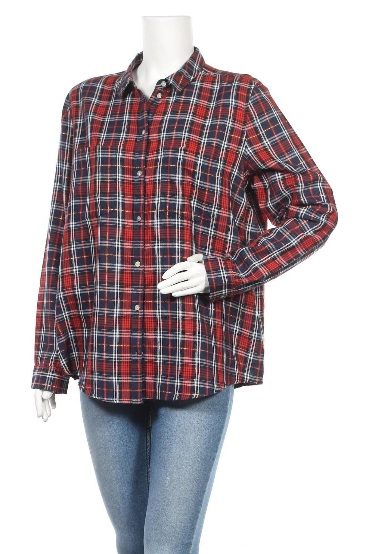 Дамска риза Montego, Размер XL, Цвят Многоцветен, Вискоза, Цена 13,50лв.