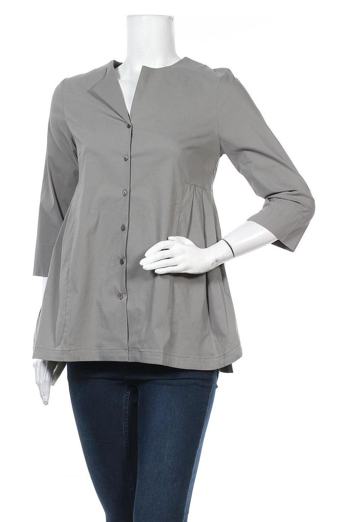 Дамска риза Myrine, Размер S, Цвят Зелен, Цена 14,75лв.